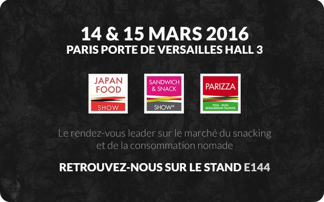 Japan Food 14-15 mars 2016
