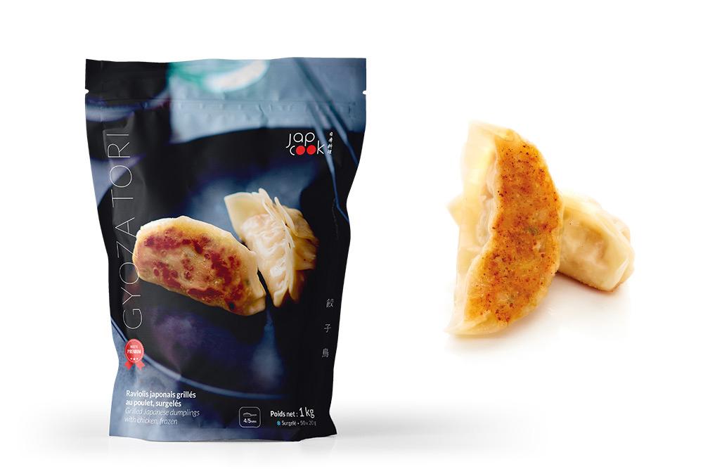 GYOZA TORI, Raviolis japonais grillés, au poulet