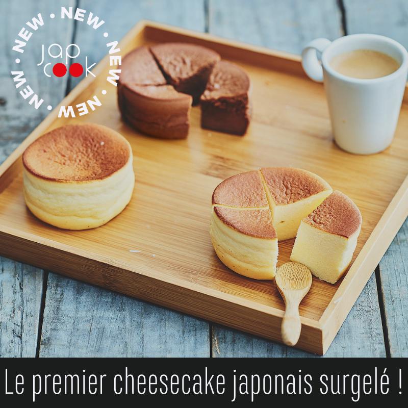 Nouveauté : JapCook lance le premier cheesecake japonais surgelé en Europe !