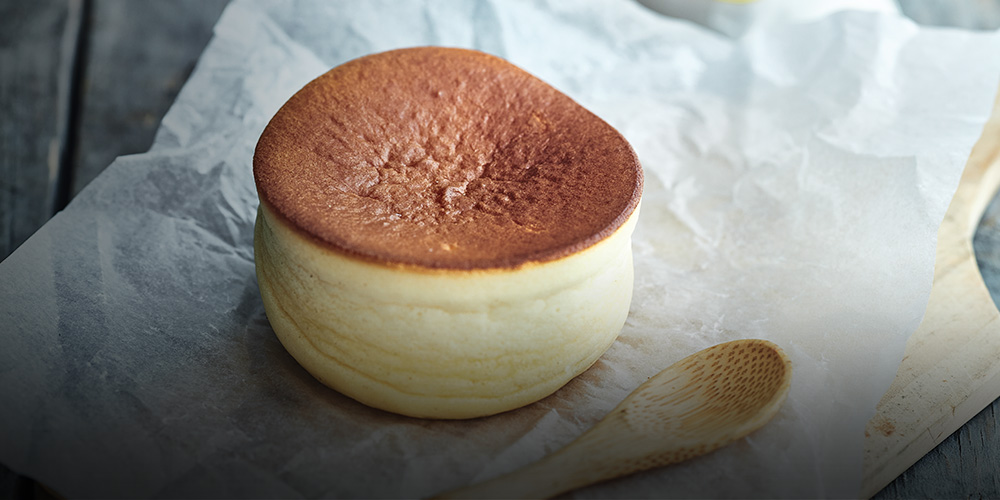 Japaneese cheesecake yuzu