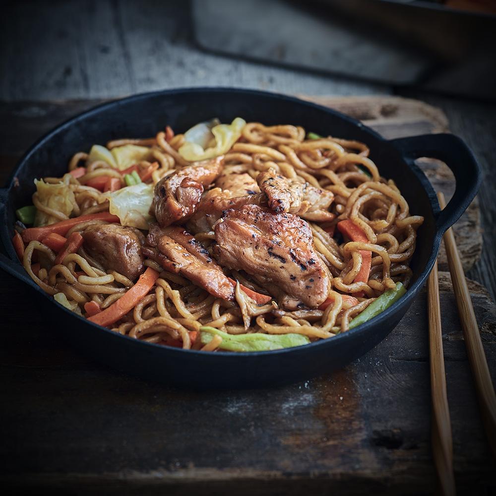Yakisoba au poulet