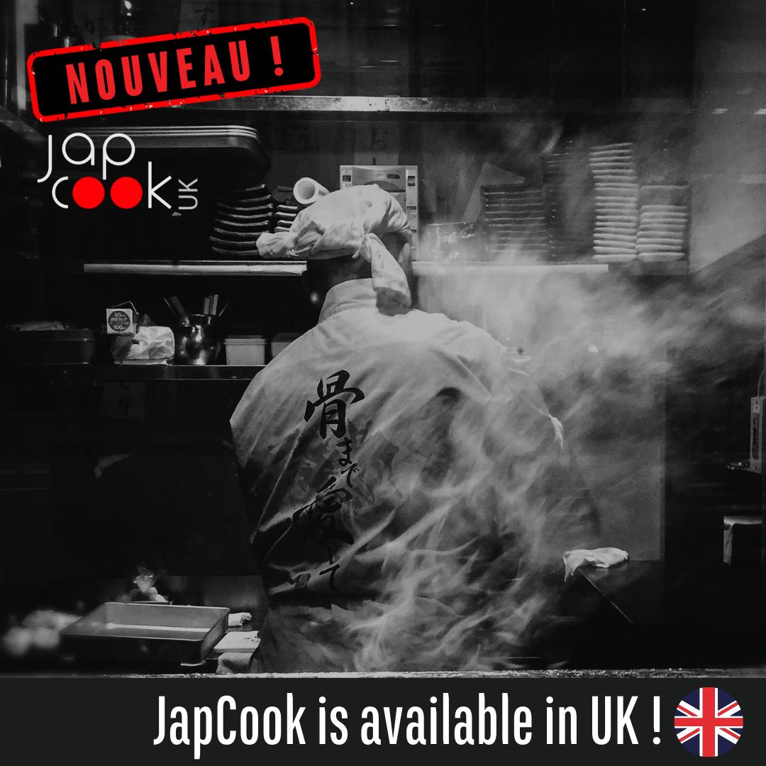 JapCook arrive en Angleterre: JapCook UK!